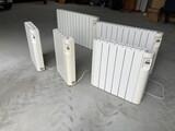 Conjunto de 5 radiadores eléctricos - foto