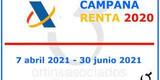 Declaración renta 2020 - foto