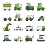 transporte de tractores - foto
