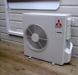 Montador de aire acondicionado  - foto