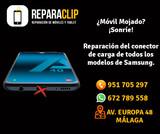 Reparación conectores de carga Samsung. - foto