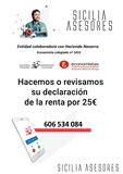 25 euros Declaración Renta Castejon - foto