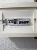 instalador eléctrico. - foto