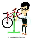 arreglo de bicicletas - foto