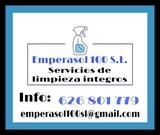 Empresa de limpieza. - foto