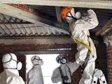Eliminacion, retirada de amianto asbesto - foto