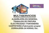 ALBAÑIL-PINTOR-FONTANERO-ELECTRICISTA - foto