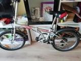 Bicicleta plegable de aluminio - foto