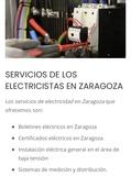Boletines eléctricos en Zaragoza - foto