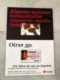 FOLLETO SORTEO CRUZ ROJA 1999