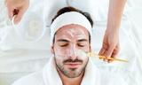 Tratamiento facial masculino - foto