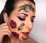 maquillaje Sant Jordi - foto