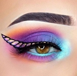 maquillaje unicornio adulta - foto
