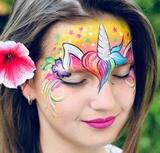 maquillaje unicornio niña - foto