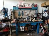 bancos de trabajo de taller - foto