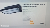 CAMPAÑA NUEVA TELESCÓPICA NEGRO - foto