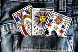 vidente, tarot, echar las cartas, dos he - foto