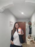 Vendedora de juice Plus - foto