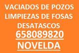 Vaciados y Desatascos 658089820 NOVELDA - foto