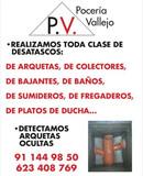Desatascos en Madrid ciudad las 24 horas - foto
