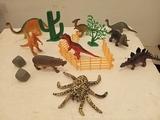 colección de dinosaurios - foto