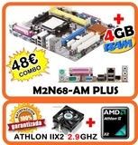 AM2  M2N68—AM PLUS + MICRO Y 4GB RAM