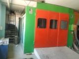 cabina de pintura - foto