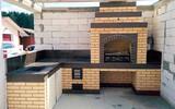 Construccion de barbecue - foto
