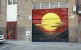graffiti Barcelona decorador de graffiti - foto