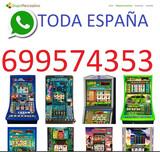 Oper. Instalación máquinas  toda España - foto