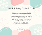 Niñera/Au-Pair - foto