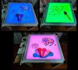 Mesa de luz Montessori - foto