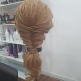 muñeca pelo natural con trípode nuevo - foto