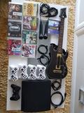 Lote Playstation 3 500gb con juegos - foto