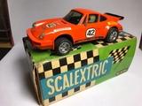 Scalextric Porsche Carrera Naranja Exin - foto