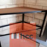 Muebles y estanterías de hierro - foto