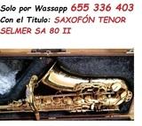 SAXOFÓN TENOR SELMER SA 80 II