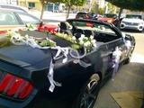 coche ford  mustang bodas - foto