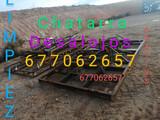 Terrenos fincas limpieza chatarra gratis - foto
