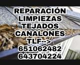 Reparación de tejados, canalones, gotera - foto