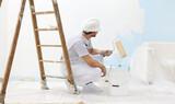 pintor puntual económico - foto