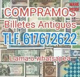 COLECCIONISTA DE BILLETES. COMPRO LOTES