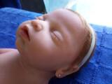 Bebé Reborn silicona de platino - foto