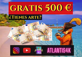 CONCURSO GRATIS 500€ PREMIO