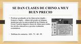 SE DAN CLASES DE CHINO - foto