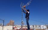 Antenas TV - reparación, instalación - foto