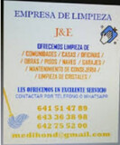 ofrecemos servicios de limpieza J&E  - foto