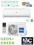 HAIER SPLIT GEOS+ GREEN 35 R32 WIFI - foto