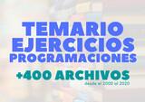 TEMARIO OPOSICIONES MATEMÁTICAS - foto