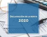 DECLARACION DE HACIENDA 2020 - foto